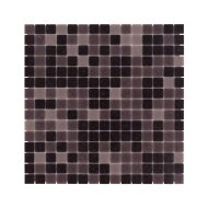 Mozaïek Amsterdam Basic 32.2x32.2 cm Glas Met Fijne Korrels Paars Mix (Prijs Per 1.04 m2)