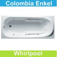 Ligbad Riho Colombia 160 x 75 cm Whirlpool Enkel systeem