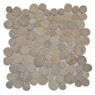 Mozaïek Coin Cristal Onyx Marmer 30x30 cm (Prijs per 1m²)