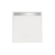 Douchebak vierkant zelfdragend Easy Tray 100x100x5cm (Met mat of glans gootcover)