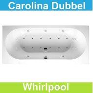 Ligbad Riho Carolina 190 x 80 cm Whirlpool Dubbel systeem