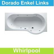 Ligbad Riho Dorado Links 170 x 75/90 cm Whirlpool Enkel systeem