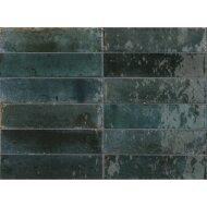 Wandtegel Piet Boon Glaze Tile Blue 6x24 cm Blauw (Doosinhoud: 0,52 m²)