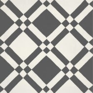 Portugese Vloertegel Jos Hidro Almost Square Black 19.7x19.7 cm  (doosinhoud 1.20m2)