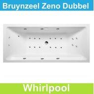Whirlpool Bruynzeel Zeno 200 x 90 cm Dubbel systeem | Tegeldepot.nl