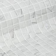 Mozaiek Ezarri Zen Carrara 2,5x2,5 cm (Doosinhoud 2 m²)