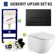 UP100 set62 Delta 51 Mat Zwart (meerprijs € 37,00)