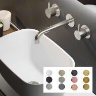 Wastafelkraan Hotbath Cobber Mengkraan 3-gats Inbouw (Verkrijgbaar in 12 kleuren)