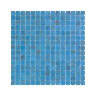 Mozaïek Amsterdam Goud 32.2x32.2 cm Glas Met Goude Ader En Licht Blauw (Prijs Per 1.04 m2)