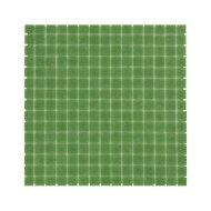 Mozaïek Amsterdam Basic 32.2x32.2 cm Glas Met Fijne Korrels Groen (Prijs Per 1.04 m2)