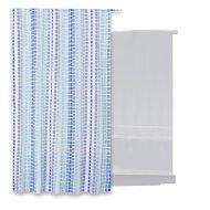 Douchegordijn Differnz Tesselo Polyester 180x200 cm Blauw