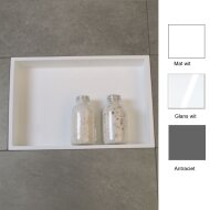 Inbouwnis Luca 44.5x29.5x8 cm (in 3 kleuren verkrijgbaar)