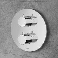 Douchethermostaat Hotbath Buddy Inbouw 2-weg Chroom (excl. inbouwdeel)