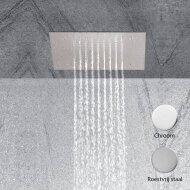 Regen douchekop Mavesteel Driade Vierkant 30cm 304L Glanzend Chroom