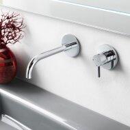 Wastafelmengkraan Hotbath Laddy Inbouw 3+3 systeem Chroom