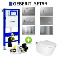 Geberit UP320 Toiletset Set59 Douche WC RapoWash met Sigma Drukplaat