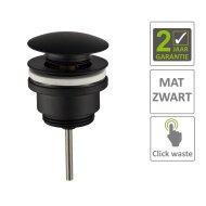 BWS Clickwaste 5/4 Laag Mat Zwart