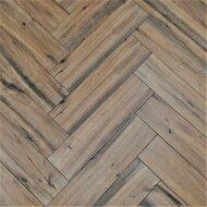 Wandtegel Visgraat Jabo Real Wood Castagno 15x60 cm Keramiek Bruin (Doosinhoud: 1,31 m2)