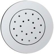 Inbouw verstelbare zijdouche rond 135mm ABS chroom (Regendouche onderdelen)