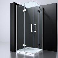 Douchecabine Best Design Erico Hoekinstap 90x90x195 cm NANO Veiligheidsglas 6 mm