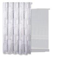 Douchegordijn Differnz Domum Polyester 180x200 cm Zilver