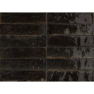 Wandtegel Piet Boon Glaze Tile Black 6x24 cm Zwart (Doosinhoud: 0,52 m²)