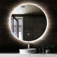 Ronde Badkamerspiegel Boss & Wessing Circle met LED Verlichting en Verwarming 100 cm