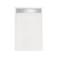 Douchebak rechthoek zelfdragend Easy Tray 110x90x5cm (Met mat of glans gootcover)