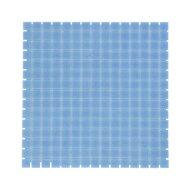 Mozaïek Amsterdam Basic 32.2x32.2 cm Glas Met Fijne Korrels Blauw (Prijs Per 1.04 m2)