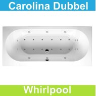 Ligbad Riho Carolina 170 x 80 cm Whirlpool Dubbel systeem
