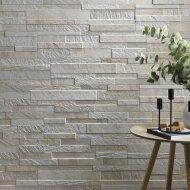 Wandtegel Rondine J86620 Cubic White 15x61 cm (doosinhoud 1.02 m2)