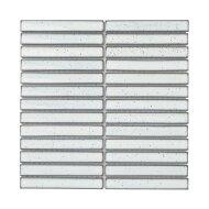 Mozaïek Sevilla Kit-Kat 29.6x29.9 cm Geglazuurd Porselein, Glanzend Wit (Prijs Per 0.89 m2)