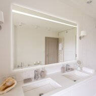 Spiegel Gliss Design Decora Horizontaal Standaard LED Verlichting 120cm
