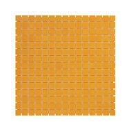 Mozaïek Amsterdam Basic 32.2x32.2 cm Glas Met Fijne Korrels Oranje (Prijs Per 1.04 m2)