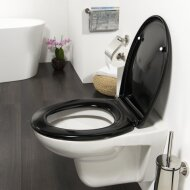 Toiletzitting Tiger Ventura Softclose Duroplast Zwart