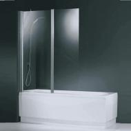 Badklapwand Novellini Aurora 2 delig 120x150cm 6mm NANO coating