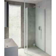 Bruynzeel Inloopdoucheset Lector 100 x 210 cm 8 mm Helder Glas Met Zijwand Plafondsteun Aluminium