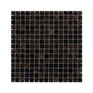Mozaïek Amsterdam Goud 32.2x32.2 cm Glas Met Goude Ader Zwart (Prijs Per 1.04 m2)