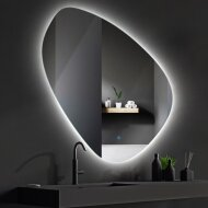 Badkamerspiegel LED BWS Spark Pendel 100x100 cm