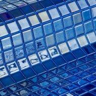 Mozaiek Ezarri Metal Azurita 2,5x2,5 cm (Doosinhoud 2 m²)