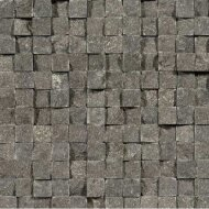 Mozaiek tegels Chinees hardsteen / Spotted Bluestone cubic 2,3x2,3cm (prijs per matje 30x30cm) OUTLET