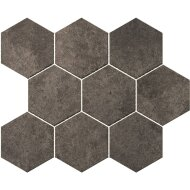 Hexagontegel Cristacer Umbria Grafito 35.5x29.2 cm