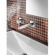 Wastafelmengkraan Hotbath Bloke inbouw 3+3 inbouwsysteem (in twee kleuren)