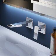 Hotbath Bro! Wastafelmengkraan Inbouw Geborsteld Nikkel
