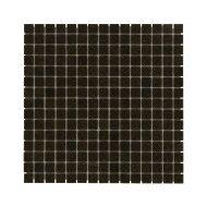 Mozaïek Amsterdam Basic 32.2x32.2 cm Glas Met Fijne Korrels Donker Bruin (Prijs Per 1.04 m2)