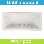 Whirlpool Boss & Wessing Dahlia 190x90 cm Dubbel systeem