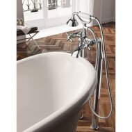 Hotbath Amice badmengkraan Chroom A030DMCR vloermontage