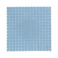 Mozaïek Amsterdam Basic 32.2x32.2 cm Glas Met Fijne Korrels Licht Blauw (Prijs Per 1.04 m2)
