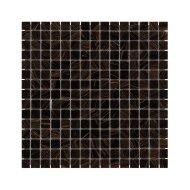 Mozaïek Amsterdam Goud 32.2x32.2 cm Glas Met Goude Ader En Bruin Grijs (Prijs Per 1.04 m2)