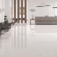 Vloertegel XL Etile Blanco Natural Mat Wit 120x120 cm (1.44m² per Tegel)
